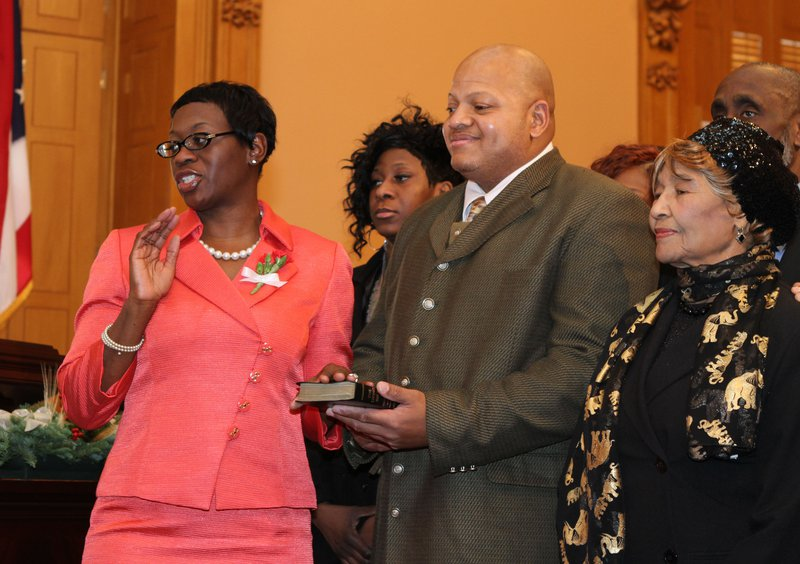 Senator Turner's Swearing In